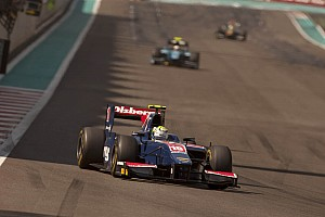 GP2 iSport Abu Dhabi race 1 report