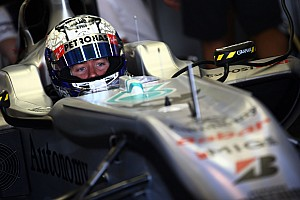 Formula 1 Mercedes Abu Dhabi young driver test Thursday report