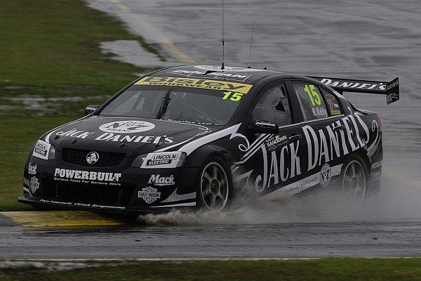 Rick Kelly rain dances to Sandown race 1 victory