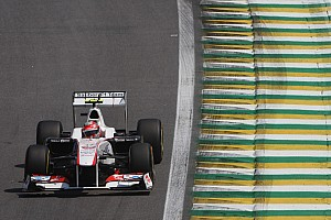 Sauber Brazilian GP race report