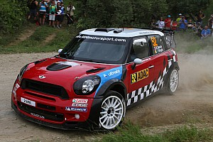 WRC MINI WRC wins Rally Car of the Year Award