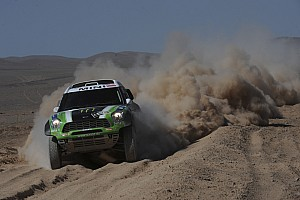Dakar Team X-raid stage 9 report