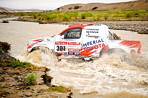 Dakar Toyota stage 11 report