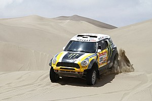Dakar Team X-raid stage 10 report