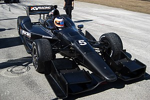 IndyCar KV Racing Sebring January test day 1