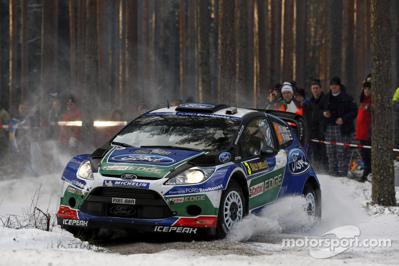 Latvala takes clear lead in Rally Sweden