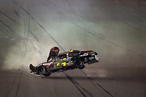NASCAR Sprint Cup Stunning crash photos from the Daytona Shootout