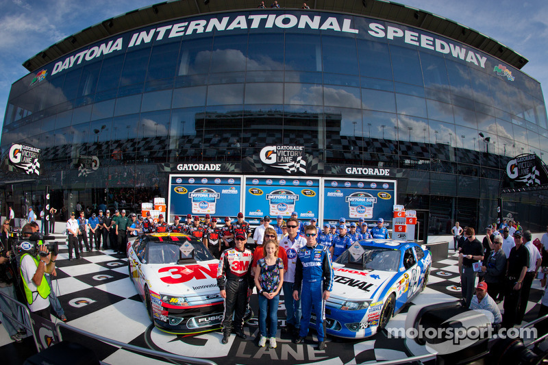Roush Fenway Sweeps Front Row for Daytona 500