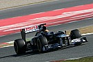 Maldonado sets fastest lap on third day of testing in Barcelona