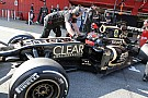 Lotus Barcelona test II -  Day 1 report