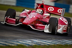 IndyCar Ganassi teammates set fastest times on Sebring short course