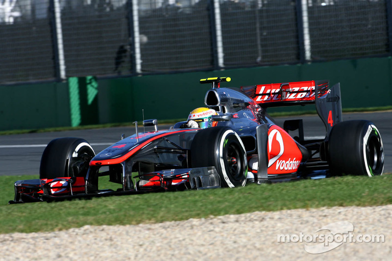 All McLaren front row for Australian GP at Melbourne