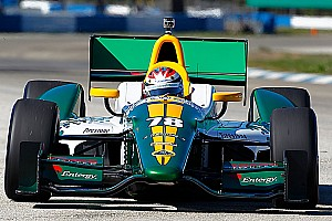 IndyCar Lotus HVM Racing St. Pete race report