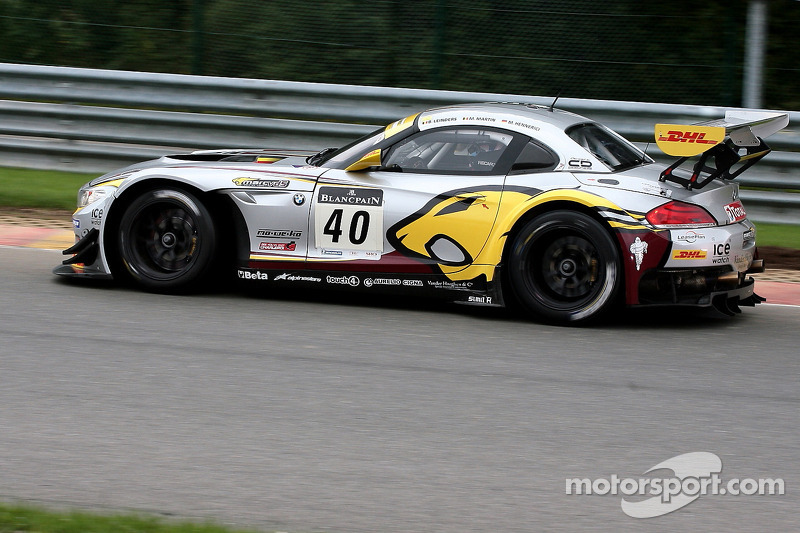 Marc VDS prepare for the 24 Hours of Nürburgring