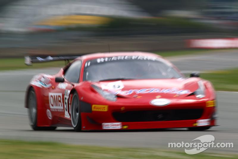 Bertolini completes the crews on the AF Corse Ferrari 458 Italia