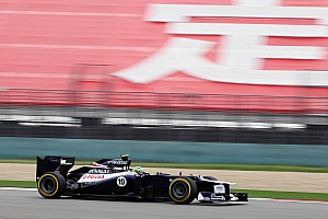 Williams Chinese GP - Shanghai qualifying report