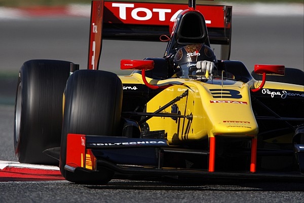 Valsecchi wasted no time in snagging the pole in Bahrain