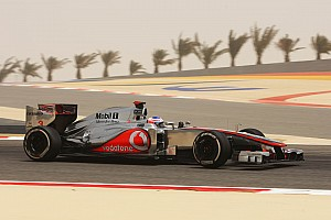 McLaren Bahrain GP - Sakhir qualifying report