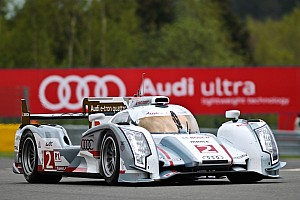 WEC McNish takes debut pole for Audi R18 hybrid at Spa circuit