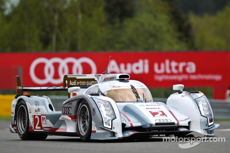 McNish takes debut pole for Audi R18 hybrid at Spa circuit