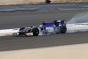 Trident Racing Bahrain race 1 report