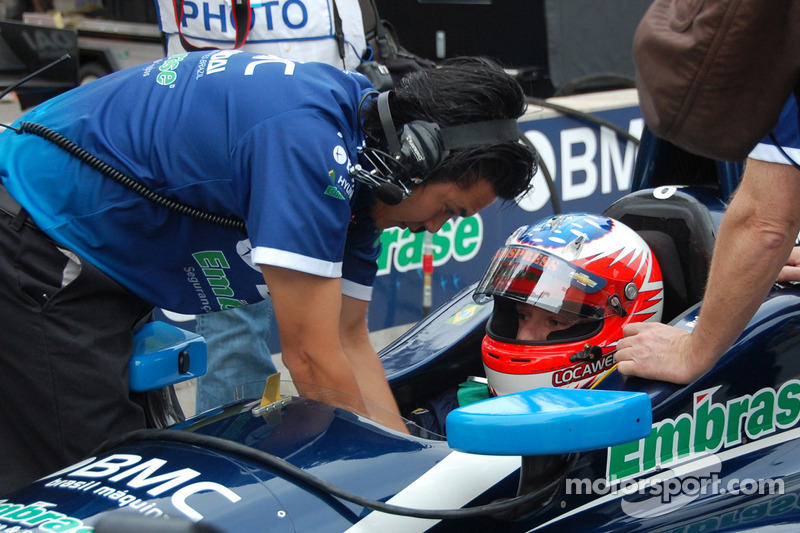 KV Racing's Barrichello passes Indianapolis rookie test
