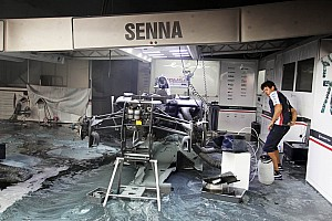 Senna to race 'Barcelona fire car' at Monaco
