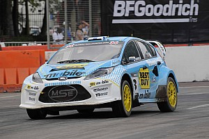 Marcus Gronholm wins Global Rallycross opener