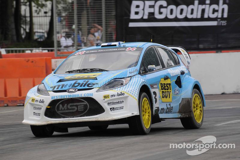 Marcus Gronholm wins Global Rallycross opener