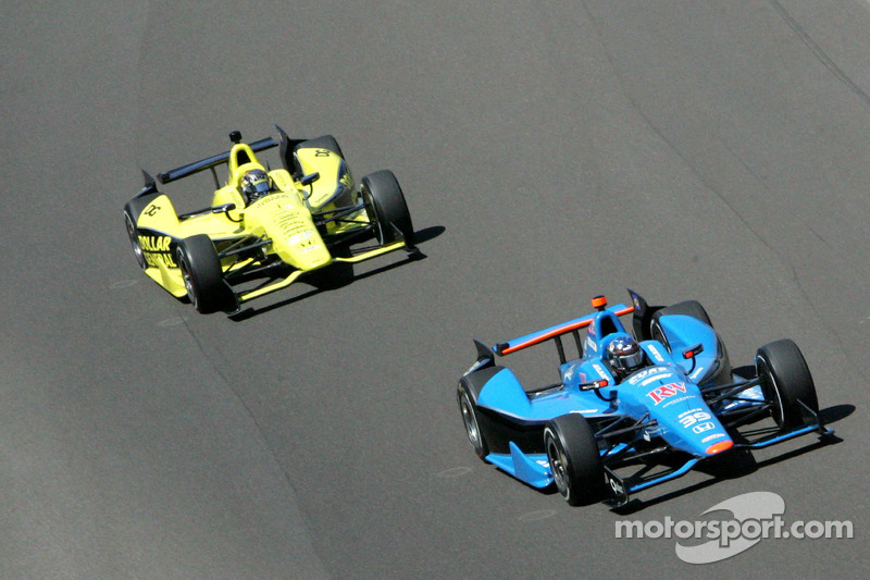 2012 Indy 500 leaves SFHR rookies 25th and 30th