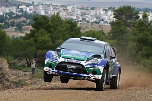 Solberg takes on Ford's victory challenge as Latvala falls back in Acropolis Rally