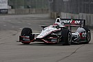 Team Penske's Power leads Friday Belle Isle practice