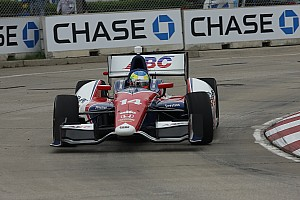 Conway, AJ Foyt Racing struggle at Belle Isle qualifying