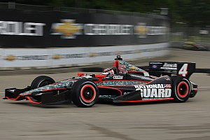 IndyCar Panther penalized for red-flag work on Hildebrand car