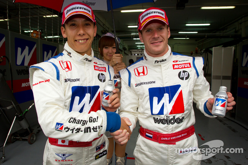 Kogure in the Honda takes second consecutive Sepang pole position!