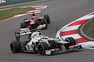 Formula 1 Ferrari admits keeping close eye on Perez