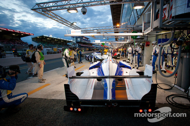 TOYOTA Racing impresses in Le Mans qualifying