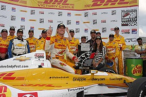 Andretti Autosports' Hunter-Reay wins at Milwaukee