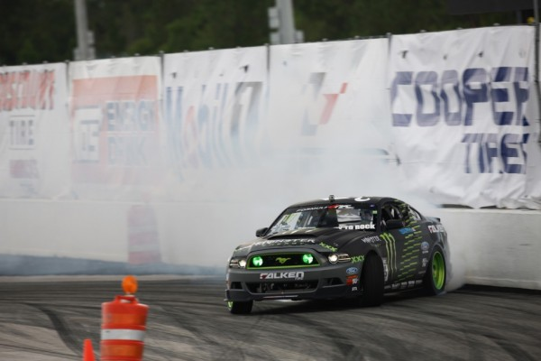 Vaughn Gittin Jr. takes the Formula Drift round 4 win at Wall Speedway