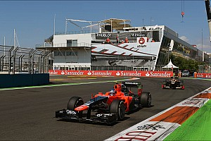 Formula 1 Race report Marussia's Pic earns his best finish grand prix finish in Valencia