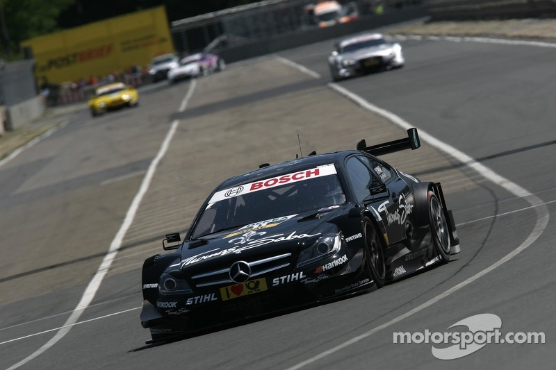 Paffett maintains DTM Championship lead after strong drive