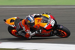 MotoGP Practice report Pedrosa leads on day one in Germany