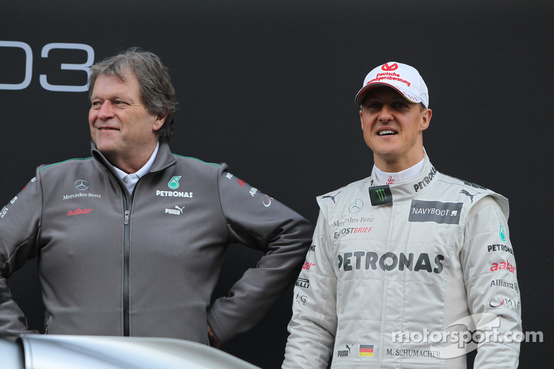 Schumacher not playing 'contract poker' - Haug
