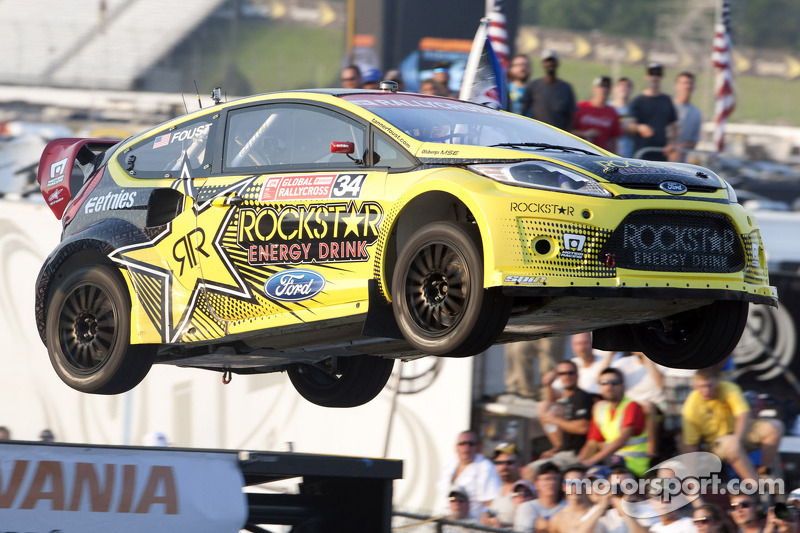 One Lap of the New Hampshire Global Rallycross - Video