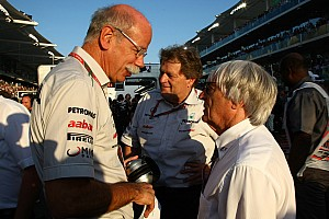 Formula 1 Breaking news Mercedes, FIA, yet to agree new Concorde