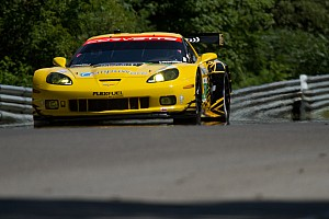 ALMS Qualifying report Corvette Racing qualifies 1-2 in GT at Mosport