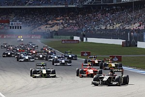 GP2 Race report Lotus GP's Calado went from pole to victory in Hockenheim Sprint Race