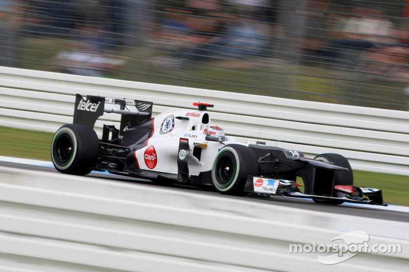 Sauber travels with renewed confidence to Hungaroring