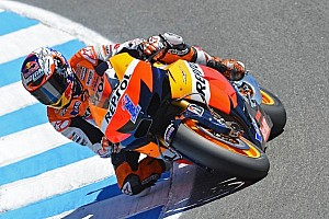 MotoGP Race report Stoner grabs his second-consecutive U.S. GP win at Laguna Seca