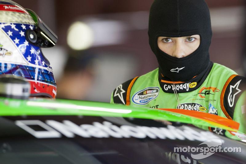 Danica Patrick Crash - NASCAR Indy 250 2012 - Video